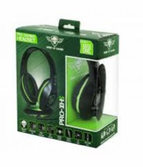 Auricular Pro Gaming Headset XI-15 XBOX Spirit of Gamer